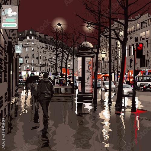 Paris at night - 39728089