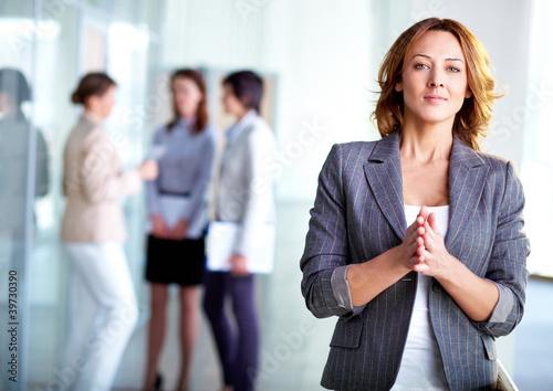 Fototapeta Stylish employer obraz
