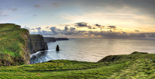 Panoramic View Of Cliffs Of Mo...