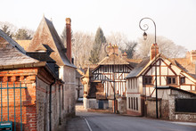 Village Of Acquigny In Rural Upper Normandy, France