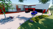 Casa Moderna Frontal