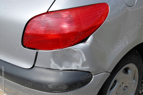 Fotografie, Obraz  Accident damage