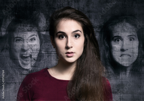 Angst Canvas Print