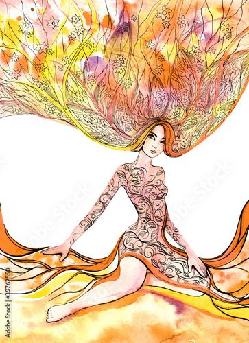 kwitnaca-kobieta