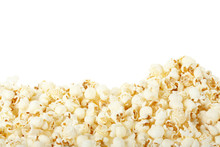 Popcorn On White, Clipping Pat...