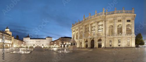 Photo  Turin, Piazza Castello, Italy