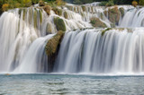Skradinski Buk - waterfall in Krka National Park in Croatia.