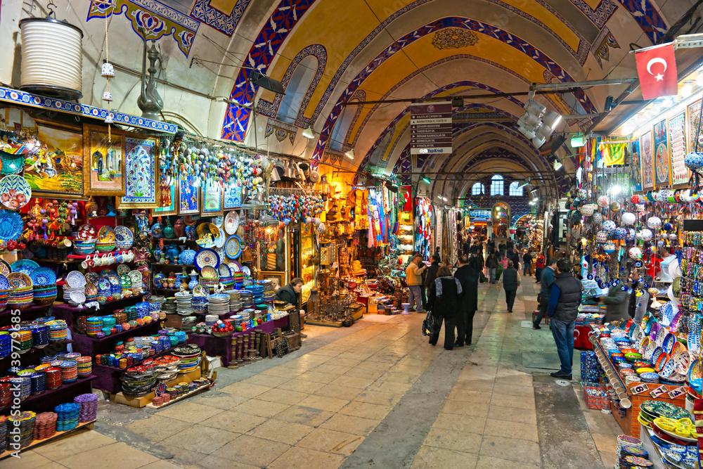 Grand Covered Bazaar, Istanbul   Go Turkey Tourism