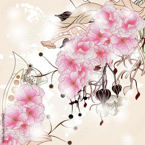 tle-kwiatow-z-galezi-wisni