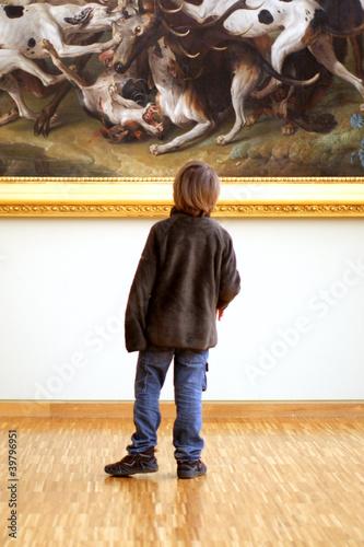 Fotografía  Enfant au Musée