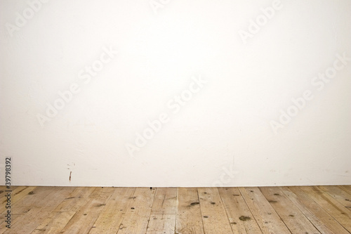 Foto op Plexiglas Wand 床と壁