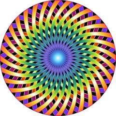 Fototapeta Mandala Hypnotic-Ipnotico Cerchio-Vector