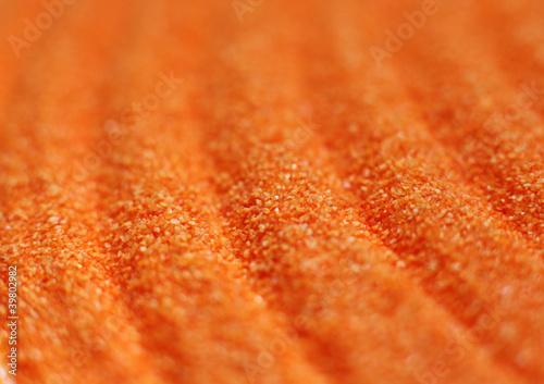 Photo sur Plexiglas Zen pierres a sable sable de couleur orange