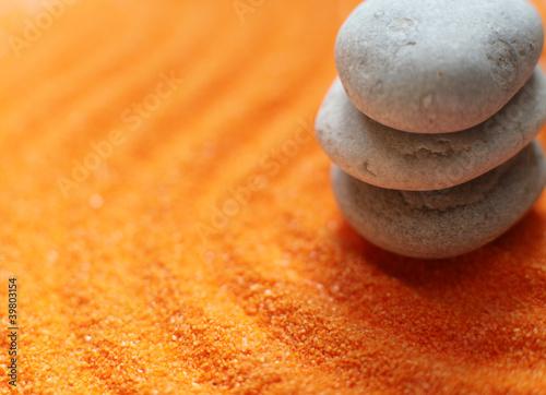 Photo sur Plexiglas Zen pierres a sable galets de méditation relaxation