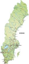 Inselkarte Von Schweden