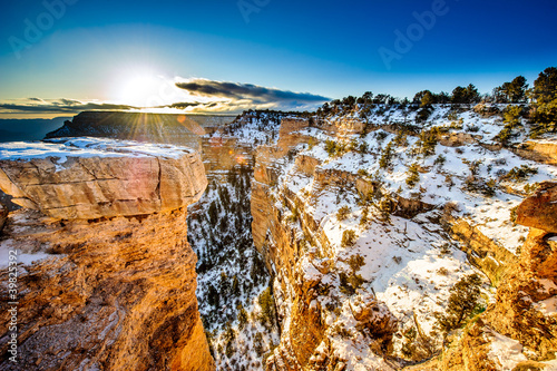 Photo Stands Canyon Grand Canyon