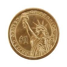 Coin One Dollar.