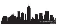 Indianapolis, Indiana Skyline....