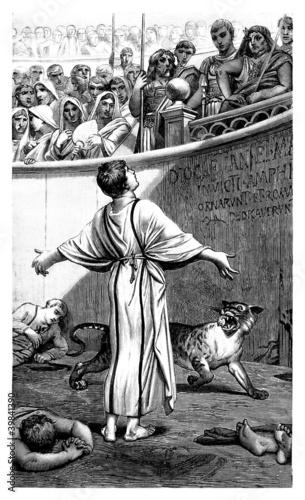 Fotografía Christian Martyr - Antique Rome
