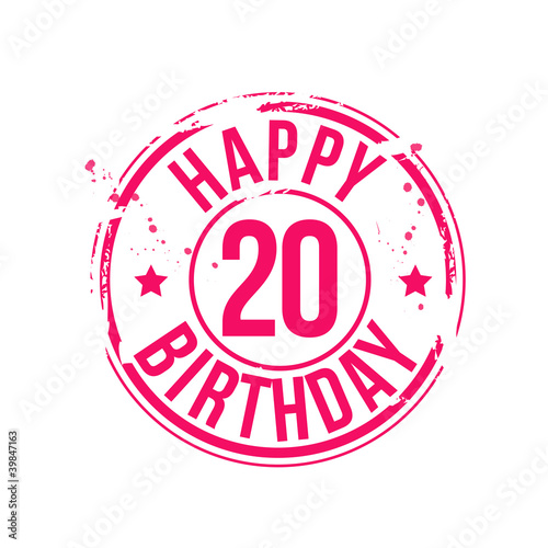 Anniversaire 20 Ans Buy This Stock Vector And Explore Similar
