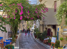 Traditional Houses In Plaka,At...