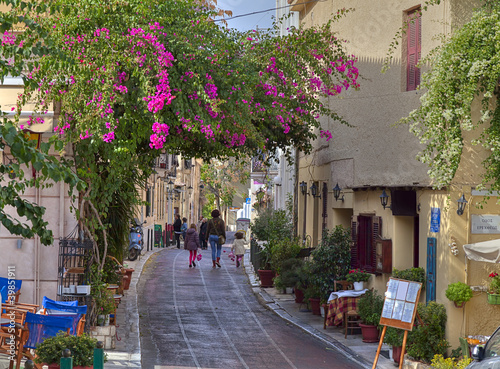 Fototapety, obrazy: Traditional houses in Plaka,Athens