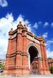 Arch of Triumph, Barcelona Spain