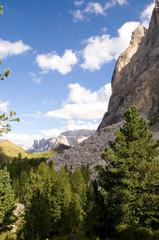 Langkofel und Sellagruppe - Dolomiten - Alpen