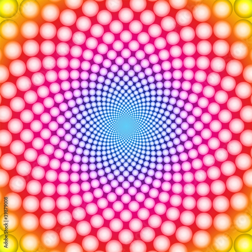 Ring optical illusion (Vector EPS) - 39879008
