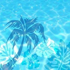 Fototapeta na wymiar 水面に映る