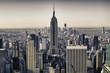 Skyscrapers of New York City in Winter