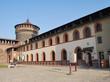 Castello sforzesco a Milano, Italia