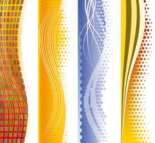 Vertical Modern Backgrounds