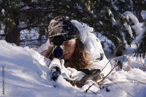 Fotografía  Sniper girl