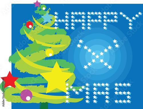 Montage in der Fensternische Flugzeuge, Ballons Christmas tree