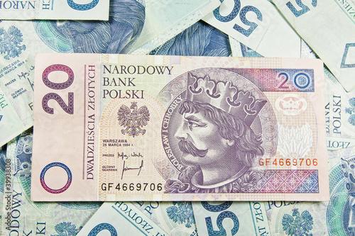 Fotografía  Pieniądze - Polski złoty 20