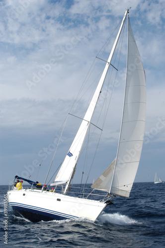 Foto op Aluminium Zeilen sailing boat