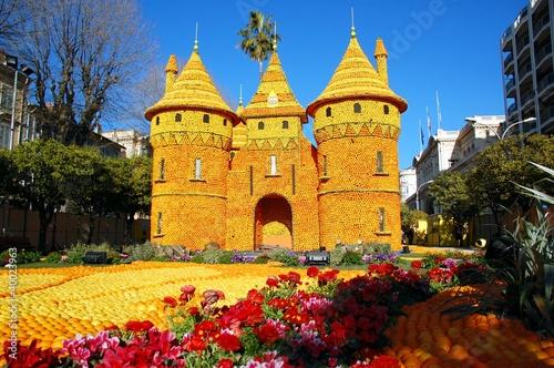 Foto auf AluDibond Nice Lemon Festival (Fete du Citron). Menton, France. Loire region