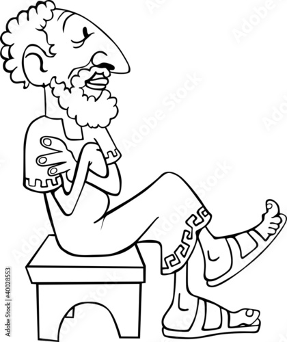 ancient greek thinking and sitting on the bench buy this stock Feeling and Thinking ancient greek thinking and sitting on the bench