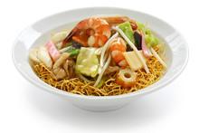 Chop Suey On Deep-fried Noodle...