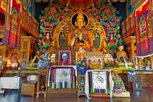 Embroidered Kopan Monastery Te...