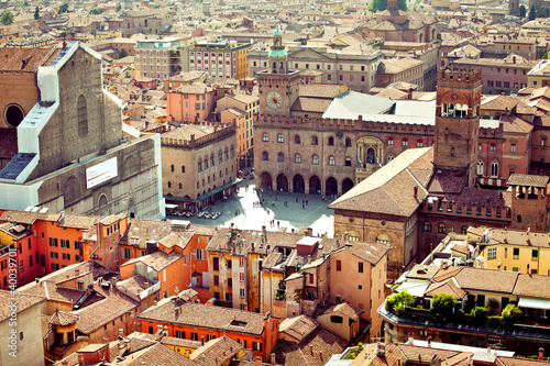Fotomural Bologna city view, Italy