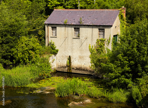 Photo  Mill on Liffey river