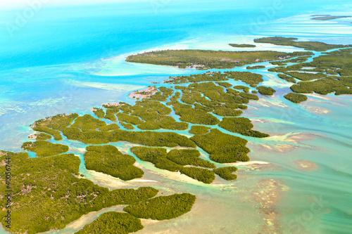 Valokuvatapetti Florida Keys Aerial View