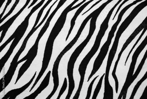 Poster Zebra Zebra Textile Texture