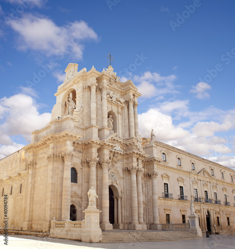 Duomo di Siracusa Fototapete