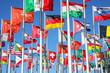 canvas print picture - Flaggen der Welt