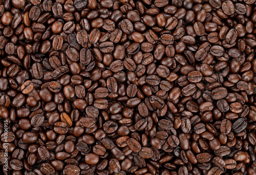 Poster de jardin Salle de cafe Coffee beans background