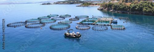 Photo Fish farm Panorama