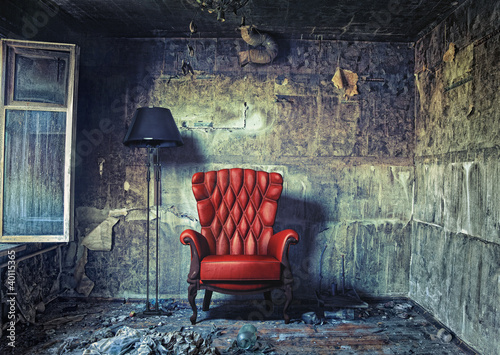 Fotografie, Obraz  luxure armchair